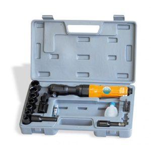 Ferramenta - Catraca Pneumática Encaixe 1/2 Aperto de 7 Kgf.M com Kit 13 Pecas Chc70k Chiaperini