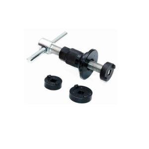Ferramenta - Jogo de Ferramenta para Posicionar Embolo da Pinça de Freio de Disco Traseiro 3 Peças Cr213 Cr
