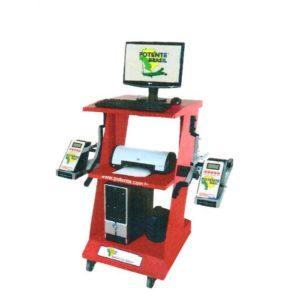 Ferramenta - Alinhador de Direção Digital A Laser Dianteiro com Rack e Acessórios Aln1002rk Potente
