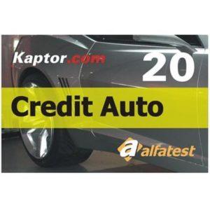 Ferramenta - Cartão 20 Créditos para Scanner Alfatest Credit Auto 20 51501006 Alfatest