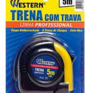 Ferramenta - Trena Anti Choque 5mx 19mm T95 Western