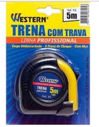 Ferramenta - Trena Anti Choque 5mx 19mm T95 Western