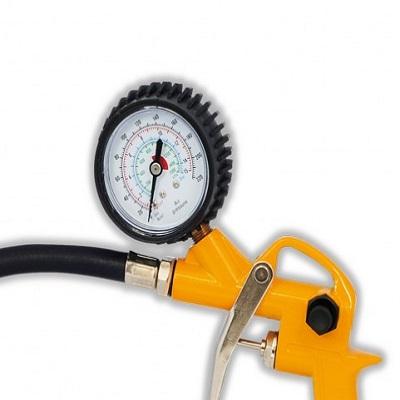 Ferramenta - Calibrador de Pneus com Inflador e Relógio 0 A 220 Psi Chca220 Chiaperini