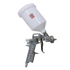 Ferramenta - Pistola de Pintura Gravitacional 500ml Baixa Pressão Alta Produçao Bico 1,4mm Pp3v8 V8 Brasil