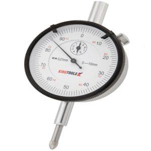 Ferramenta - Relógio Comparador 0 A 10 Mm Graduação de 0,01 506700 Kingtools