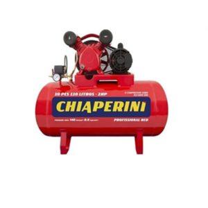 Ferramenta - Compressor de Ar 10 Pés 140 Libras 110 Litros Monofásico 10redmono110l Chiaperini
