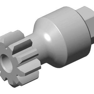 Ferramenta - Ferramenta para Girar Volante Encaixe de 1/2 24mm Sextavado Externo Volvo 731005 Raven