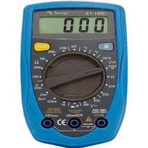 Ferramenta - Multímetro Digital de Motores Automotivos Portátil Et1400 Minipa