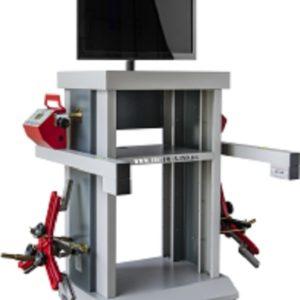 Ferramenta - Alinhador de Direção Digital A Laser Dianteiro Wireless com Rack e Acessórios Aldw1 Techmax