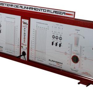 Ferramenta - Alinhador de Direção Painel A Laser Dianteiro com Acessórios Alp1 Techmax
