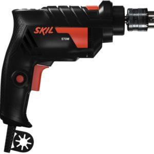 Ferramenta - Furadeira de Impacto Mandril 3/8 10mm 570w 127v Reversível 2 Velocidades 6602 Skil