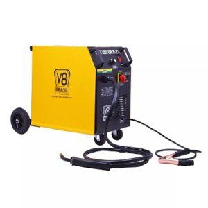 Ferramenta - Maquina de Solda MIG 195 Amperes 220v Monofásica Uso com e Sem Gás Mig195flexbr/220v V8Brasil