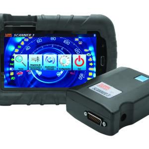 Ferramenta - Scanner para Dianostico Automotivo Raven 3 Diesel Leves e Pésados 108800-Combodiesel-Leve/Pésado Raven