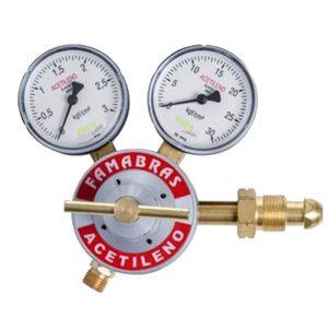 Ferramenta - Regulador de Pressão para Cilindro de Acetileno Riacetfama Famabras