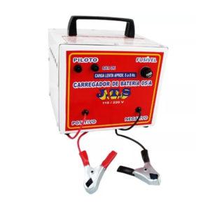 Ferramenta - Carregador de Bateria 5a 12v A 24v Portátil Jts016 Jts