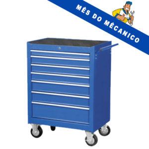 Ferramenta - Carrinho para Ferramentas Fechado com 7 Gavetas 040003 Riosul