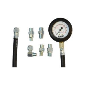Ferramenta - Equipamento Medidor de Pressão de Óleo com 5 Adaptadores Ka0085 Kitest