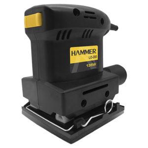 Ferramenta - Lixadeira Orbital 135w Lixa 1/4 110v Lo200110v Hammer