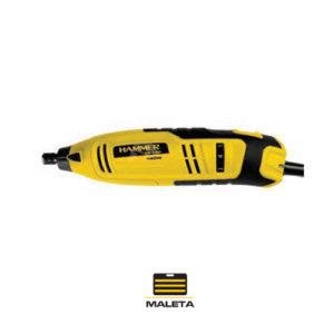 Ferramenta - Micro Retifica Pinça 1/8 150w 110v com Acessórios e Maleta Mi150k110v Hammer