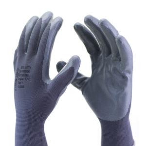 Ferramenta - Luva Latex Nitrilico Cinza Alta Resistencia A Óleo Ss1006 Ca32038 Super Safety