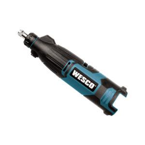 Ferramenta - Microrretifica A Bateria Li-Ion 12v Pinca 1/8 Com Acessorios Com Bateria E Carregador Ws25399 Wesco
