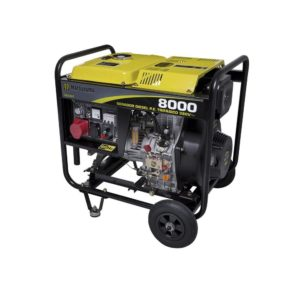 Ferramenta - Gerador de Energia A Diesel 6700W 6,7kVA 13HP Bivolt 459135 Matsuyama