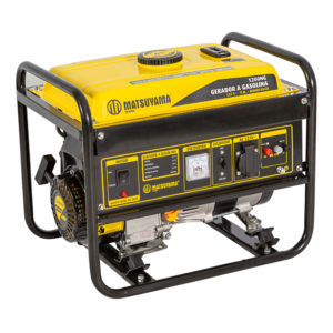 Ferramenta - Gerador De Energia A Gasolina 1200W 1,2kVA 2.5HP 110V 969400 Matsuyama