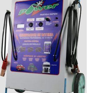 Ferramenta - Carregador De Baterias 50a 12v Com Partida Rápida Bivolt Mop03 Power