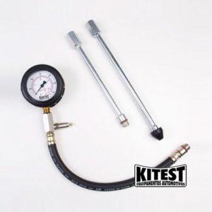 Ferramenta - Manômetro Medidor De Compressão De Cilindro Rosca E Pressão Ka026 Kitest