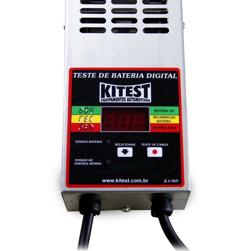 Ferramenta - Equipamento Para Testar Bateria Visor Digital 500 Amper Ka069 Kitest