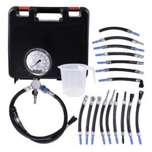 Ferramenta - Manômetro Para Teste De Pressão Bomba De Combustível 17 Mangueiras Ka01517 Kitest