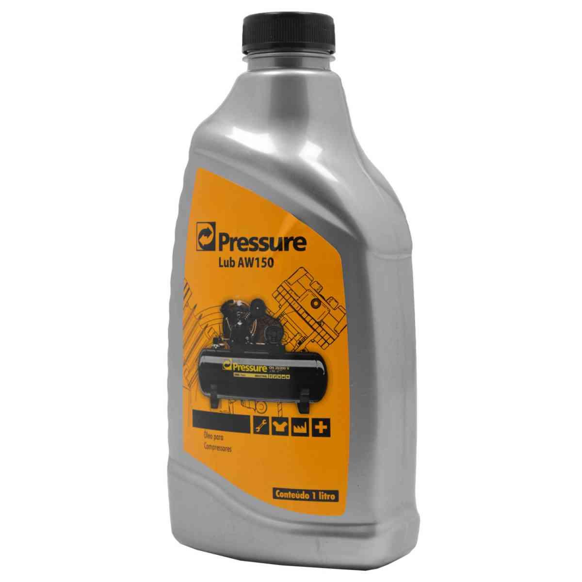 Ferramenta - Óleo Para Compressor Antidesgate Anticorrosivo Antiespuma 1 Litro