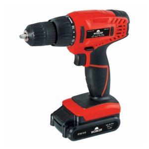 Ferramenta - Parafusadeira e Furadeira à Bateria 18v Na Maleta Pfw018 Bivolt 958581 Worker