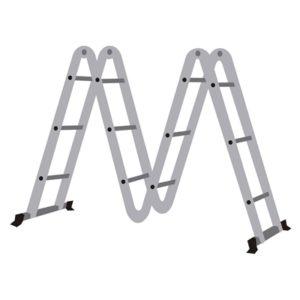 Ferramenta - Escada Em Alumínio Articulável 8 Em 1 4x4 Worker 428140