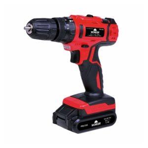 Ferramenta - Parafusadeira E Furadeira Com Impacto A Bateria 18v Com Kit Na Maleta Bivolt Pfw018i 5702 Worker