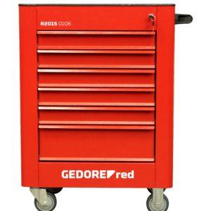 Ferramenta - Carrinho Para Ferramentas Fechado 6 Gavetas Essencial Chaveado 921x743x413mm R20150106 Gedore Red
