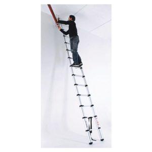 Ferramenta - Escada Telescópica Em Aluminio 1x11  Degraus 428175 Worker
